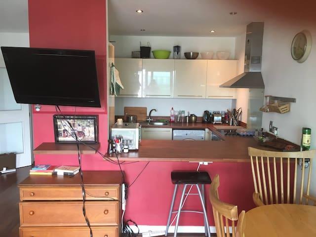 Double bedroom in a nice cozy flat in Sandyford