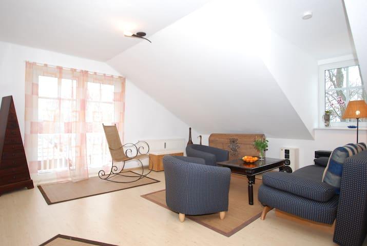 """Wohnung im """"Haus zum Strand"""" 74 qm - Wustrow"""