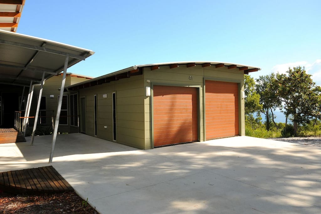Overheight 2 Car Garage