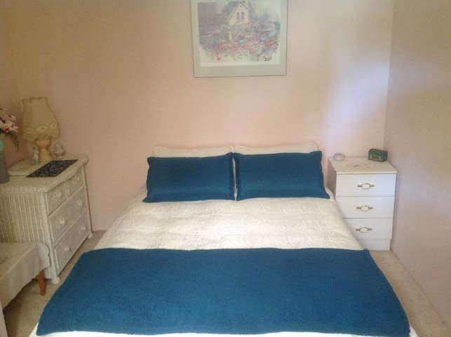 Double Bed with drawers & wardrobe