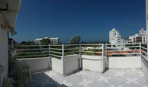 Balcón - Área privada