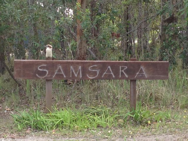 'Samsara Bush Retreat' in Yamba's Hinterland.