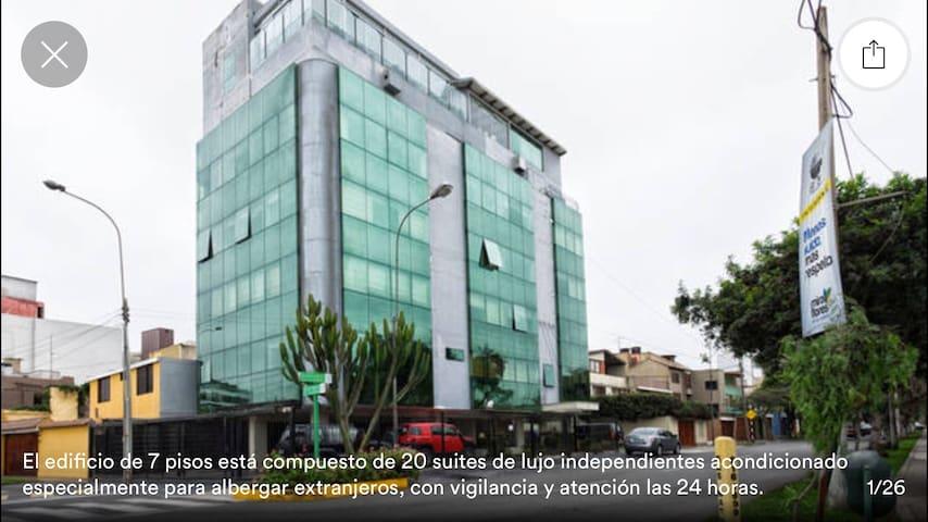 Suite de lujo 601 EQUIPADA - Miraflores - Apartamento