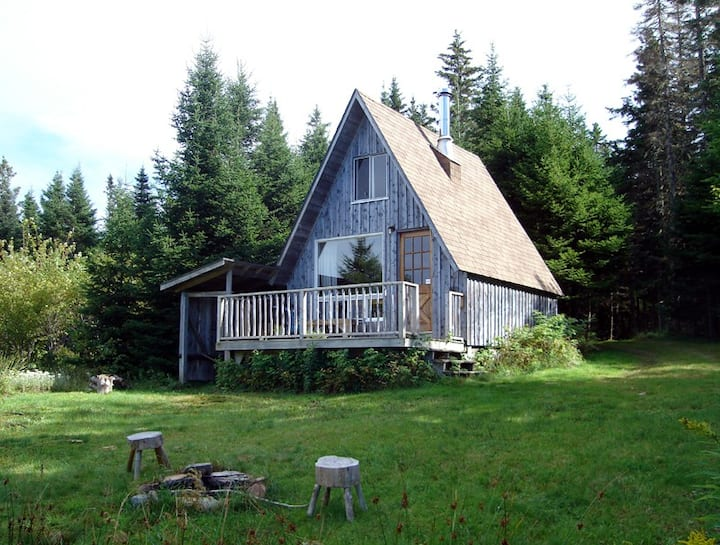 Secluded Cozy A-Cabin