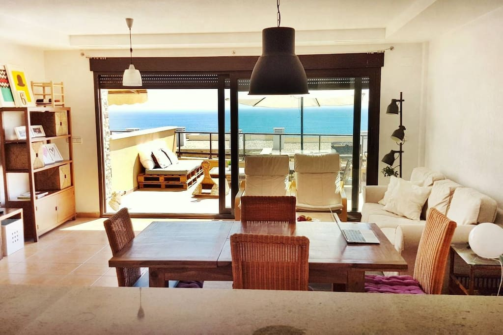 Lovely beach duplex in carabassi beach appartements for Comunidad del sol