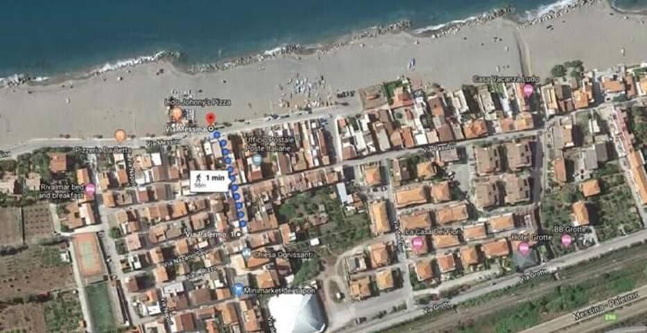 Casa Tramonto sul Mare a 50m dal mare, Mongiove
