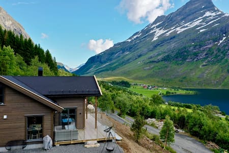 Brand new cabin, 15 minutes drive from Geiranger