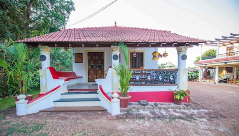 Room Bogmalo Breathtaking View in Divar Island Goa