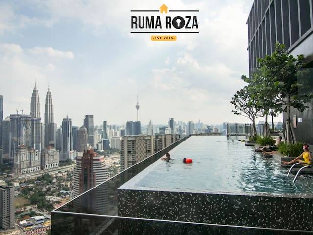 Exclusive Suite with Infinity Pool & Gym KLCC