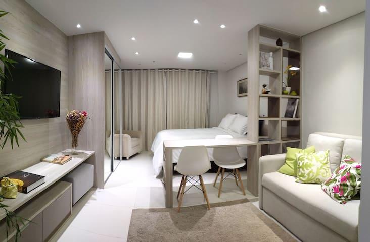 Apartamento flat Granja Brasil Itaipava 2.6M