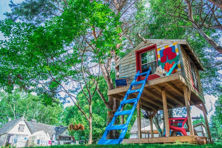 Economical, no frills tree house for adventurists! - Victoria - Puumaja