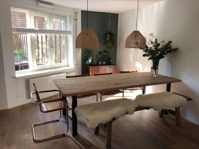 The Romantic Couple's Choice Apartment |Garden|