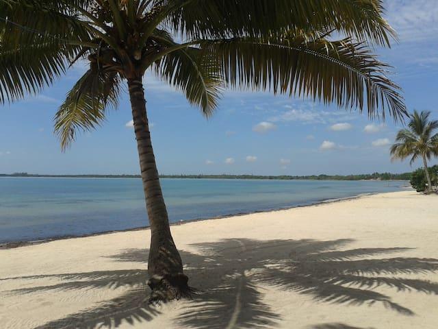 """Casa Sol y Caribe """"Habitación 1""""wifi"""
