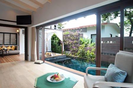 1 bedroom beachfront pool villa in Kata - Karon - 別荘