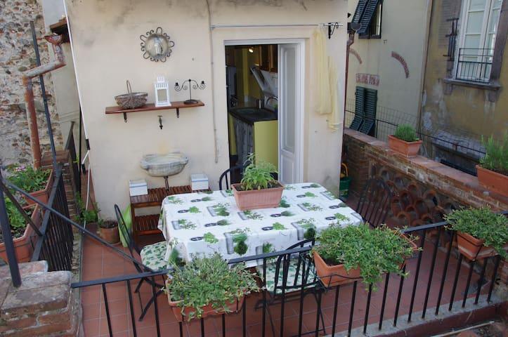 La Terrazza di San Pierino - St. Pierino's terrace - Lucca - Departamento