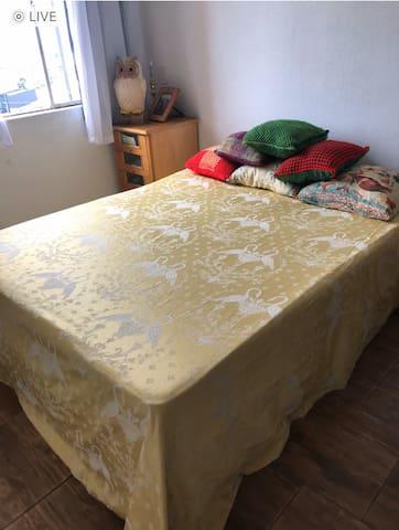 Um quarto no apartamento