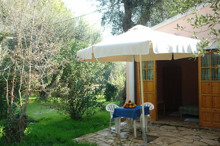 Corfu villa olive, studio near the beach