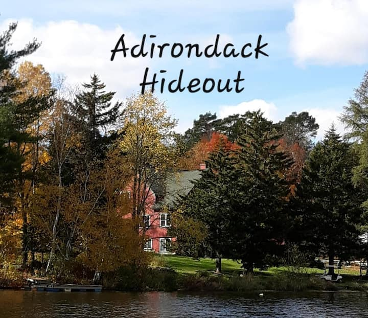 Adirondack Hideout on Chateaugay Lake