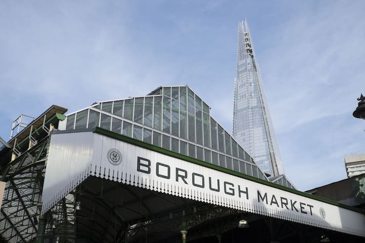 Short walk to Borough Market