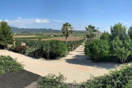 Villa familiar en Valle de Ricote. Piscina privada
