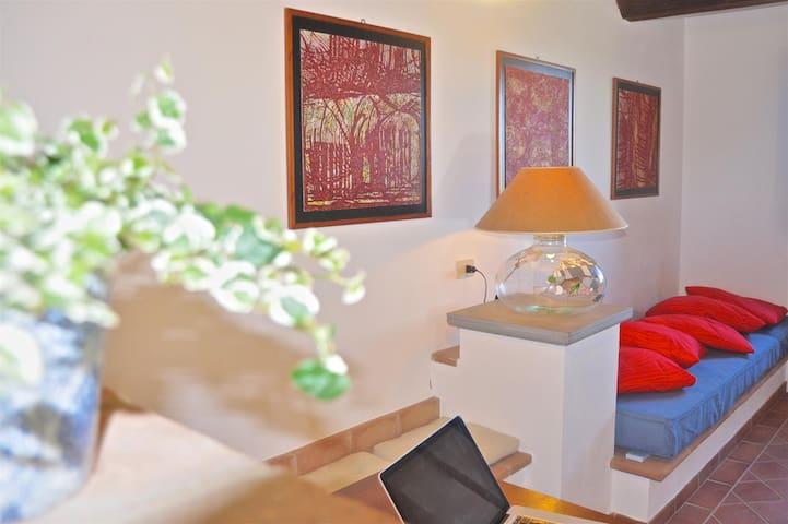 Agriturismo Borgo Solario 3 Personen - Castiglione del Lago - Appartement