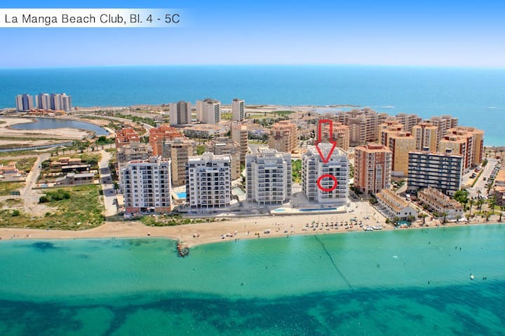 Modern flat with fantastic view ! - San Javier