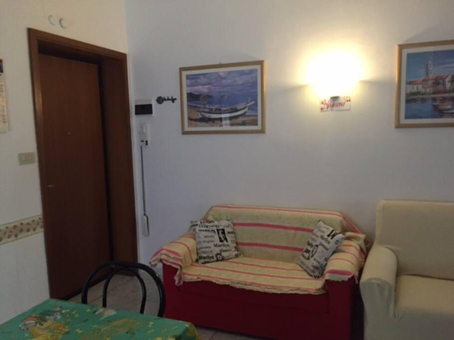Angolo divano Living area