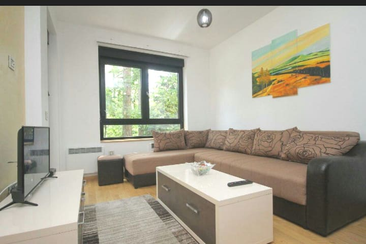 Peaeceful one bedroom apartment close to the lake