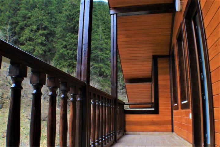Uzungöl Turkuaz Apart (Dağ Manzaralı Balkon Suite) - Uzungöl - Apartment