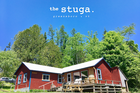 """The Stuga"" a quaint cottage with sweeping views"