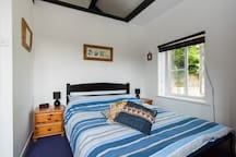 Front bedroom with views to the garden