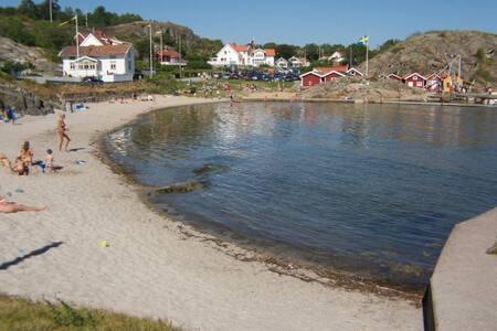 Tjörn  Rönnäng. Near the marina and Beach