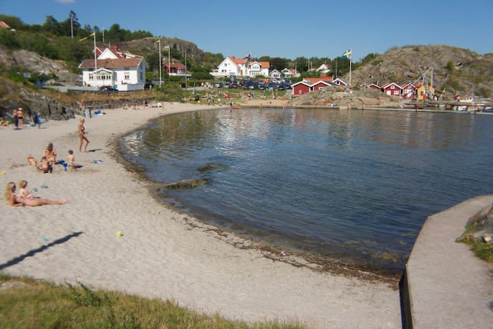 Tjörn  Rönnäng. Near the marina and Beach
