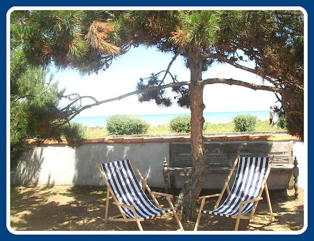 Charmant studio face à la mer La Brée les Bains IO - La Brée-les-Bains - Huis
