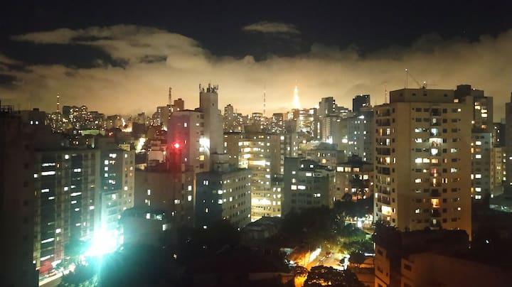 Studio próximo à Avenida Paulista