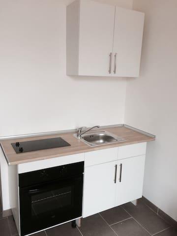 Studio avec mezzanine tout confort - Vayres - Appartement