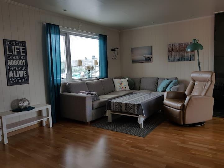 Sentral og fin leilighet i rolige omgivelser