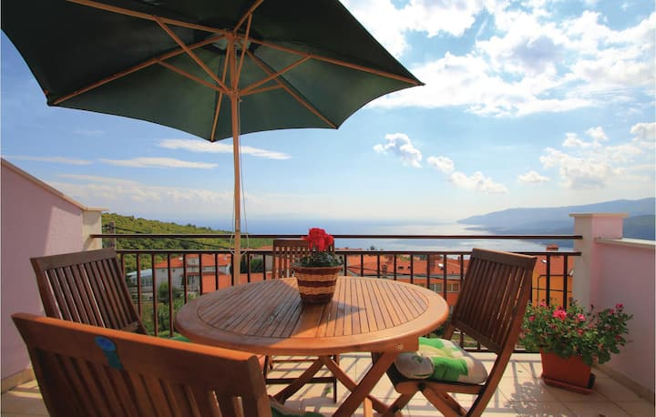 Beautiful home in Rabac with WiFi and 2 Bedrooms