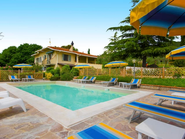 Holiday apartment Abete in Montaione