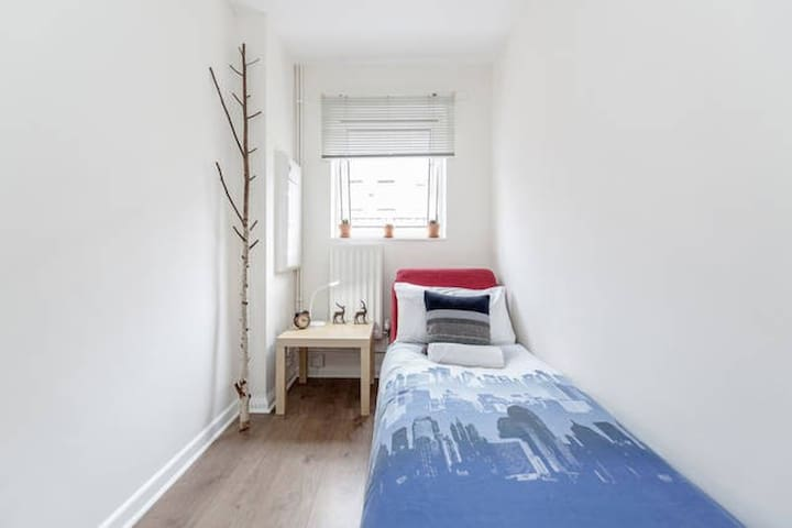 Cozy Single Bedroom Located in Central London - London - Hus