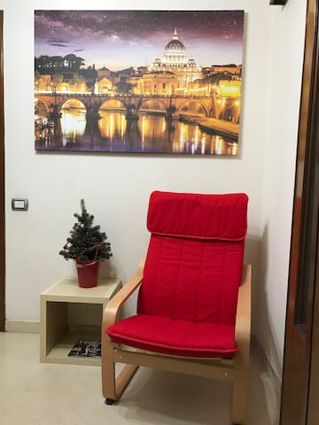 Single Room with bathroom & kitchen - Rome