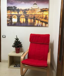 Single Room with bathroom & kitchen - Roma