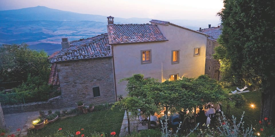 Villa Amiata - Castiglioncello del Trinoro - วิลล่า