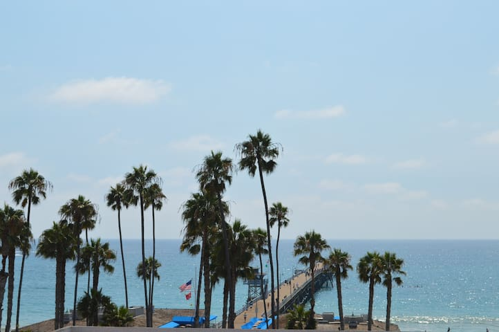 Villa Portofino 1 bedroom apt steps to pier & surf - San Clemente - Appartement