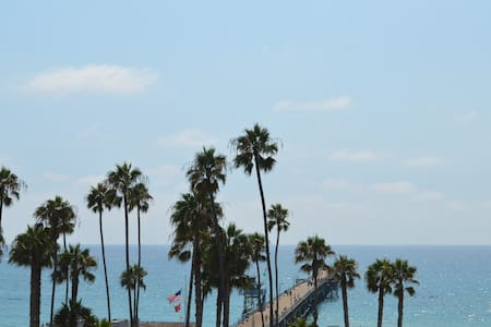 Villa Portofino 1 bedroom apt steps to pier & surf - San Clemente