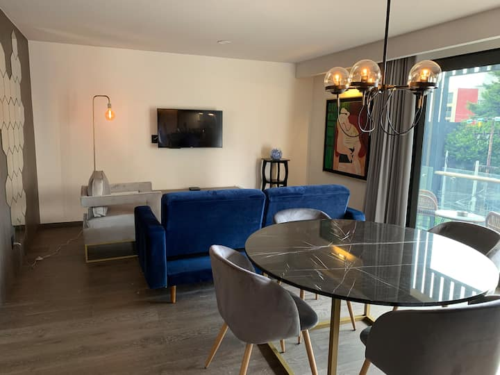 Luxurious apartment close to Reforma AC, 2 bedroom