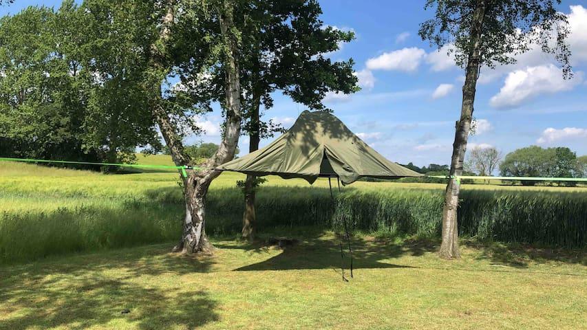 Camo Hideaway Tree Tent Hammock