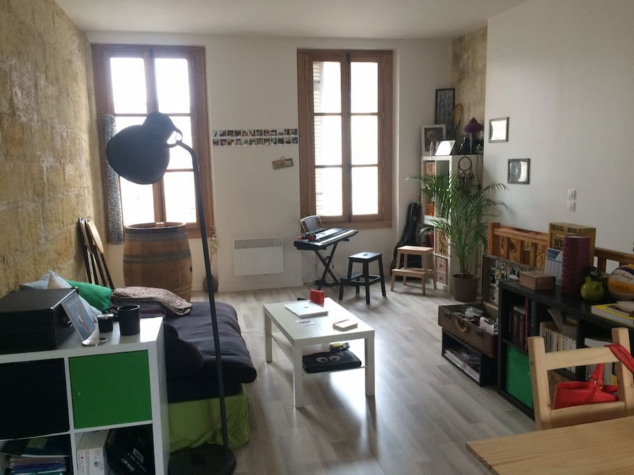 Appartement t2 centre ville appartements louer for Location studio bordeaux centre ville