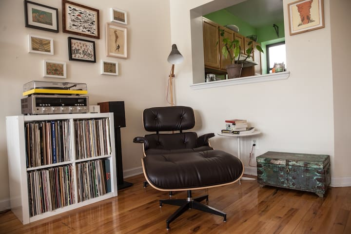 The Eames Recliner. The finest chair ever made.