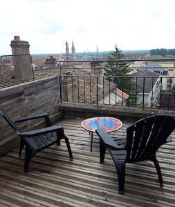 Duplex 40m² avec terrasse.